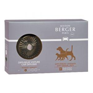maison berger autoparfum anti odeur pets