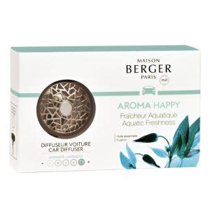 maison berger autoparfum aroma happy
