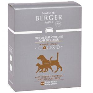 maison berger autoparfum navulling anti odeur pets
