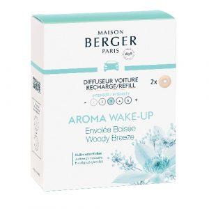 maison berger autoparfum navulling aroma wake up