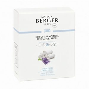 maison berger autoparfum navulling fresh linen