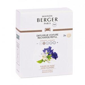 maison berger autoparfum navulling musk flowers