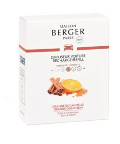 maison berger autoparfum navulling orange cinnamon